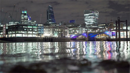 London Thames lights