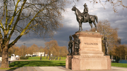 Statue of Wellington